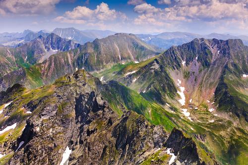 Faragas Mountains Romania