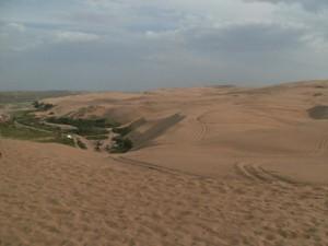 Inner Mongolia desert landscape