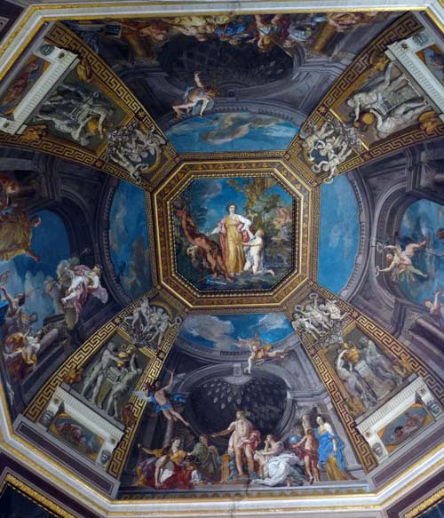 St Peter's Basilica ceiling