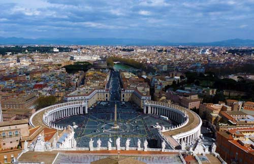 Rome, view of