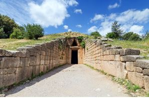Agamemnon tomb, Greece