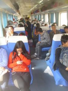 Train, China