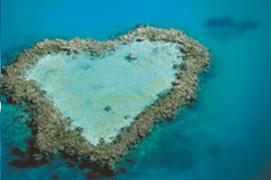 Heart Reef Photo Credit: TourismWhitsundays.com.au