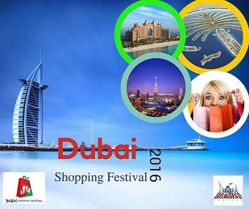 advert for Dubai Shopping Festival