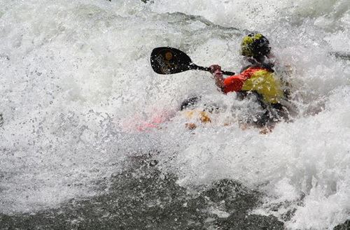 Kayaking, Wales