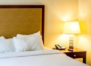 classy hotel bedroom