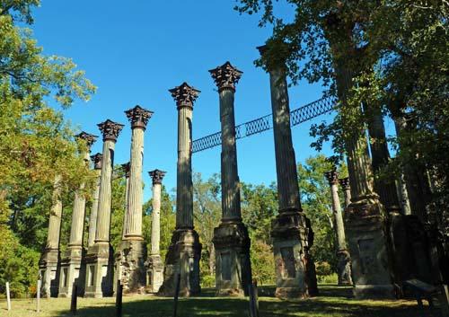 Windsor ruins, Natchez Trace