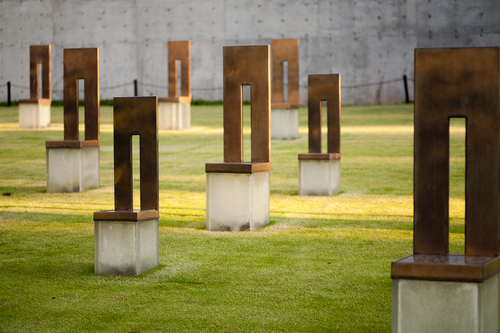 Empty chair memorial, Oklahoma City