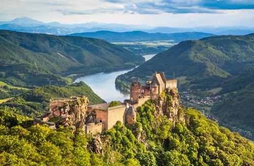 Danube ariel view