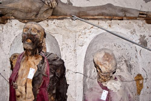 Capuchin bones, Palermo, Italy