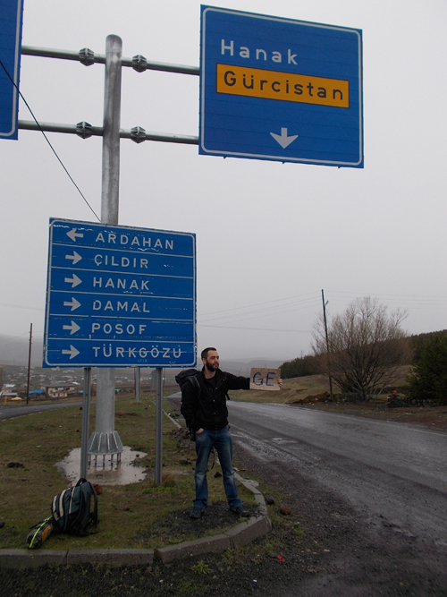 Hitching to Armenia