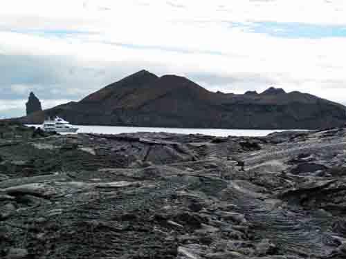 Lava island, Galapagos