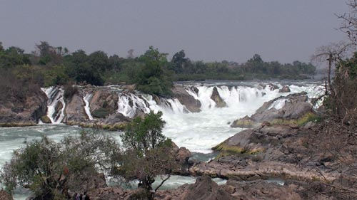 Waterfall, Laos