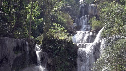 Waterfall, Laos