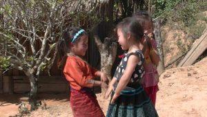 Young girls, Laos