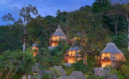 Treehouse living at Keemala