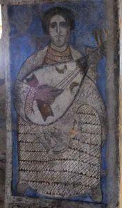 8th century fresco, Qusayr Amra