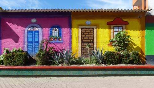 Mexican cottages
