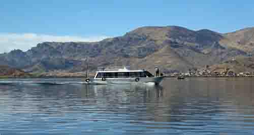 Lake Titicaca passenger boat