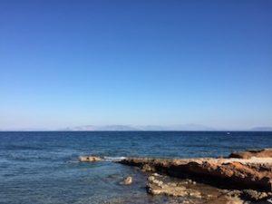 Aegean Sea off Athens