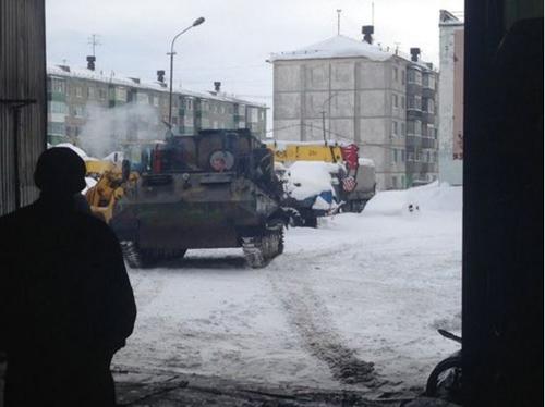 Tanks in Russia