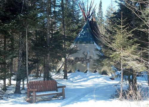 Tipi, Lyman, New Hampshire