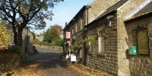 pub in Bamford, Derbyshire Peak District