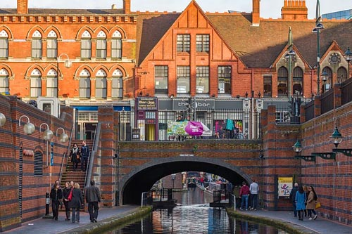 Birmingham Canal, UK