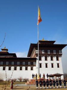 Bhutan building