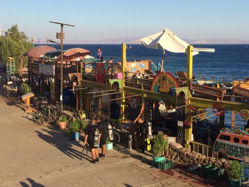 Beach bar, Dahab, Sinai
