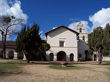 San Juan Batista Chapel, California